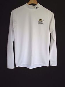 Adidas Utah Valley University White Climawarm Long Sleeve Shirt Women's XL G11