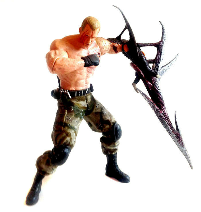 Resident Evil 4 KRAUSER 6     game figure by Neca, zombies, dead (not boxed) 3f629e