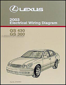 s l300 2003 lexus gs 300 430 electrical wiring diagram manual gs300 gs430  at bayanpartner.co
