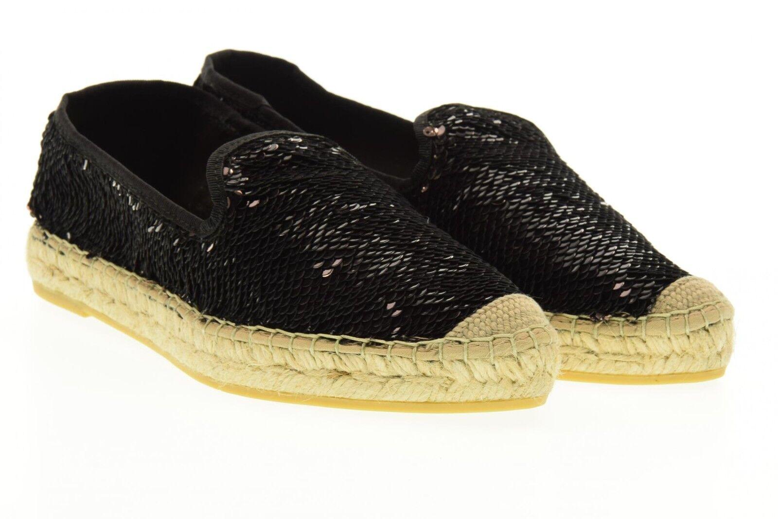 Vidorreta scarpe donna espadrillas 16300 NERO P17