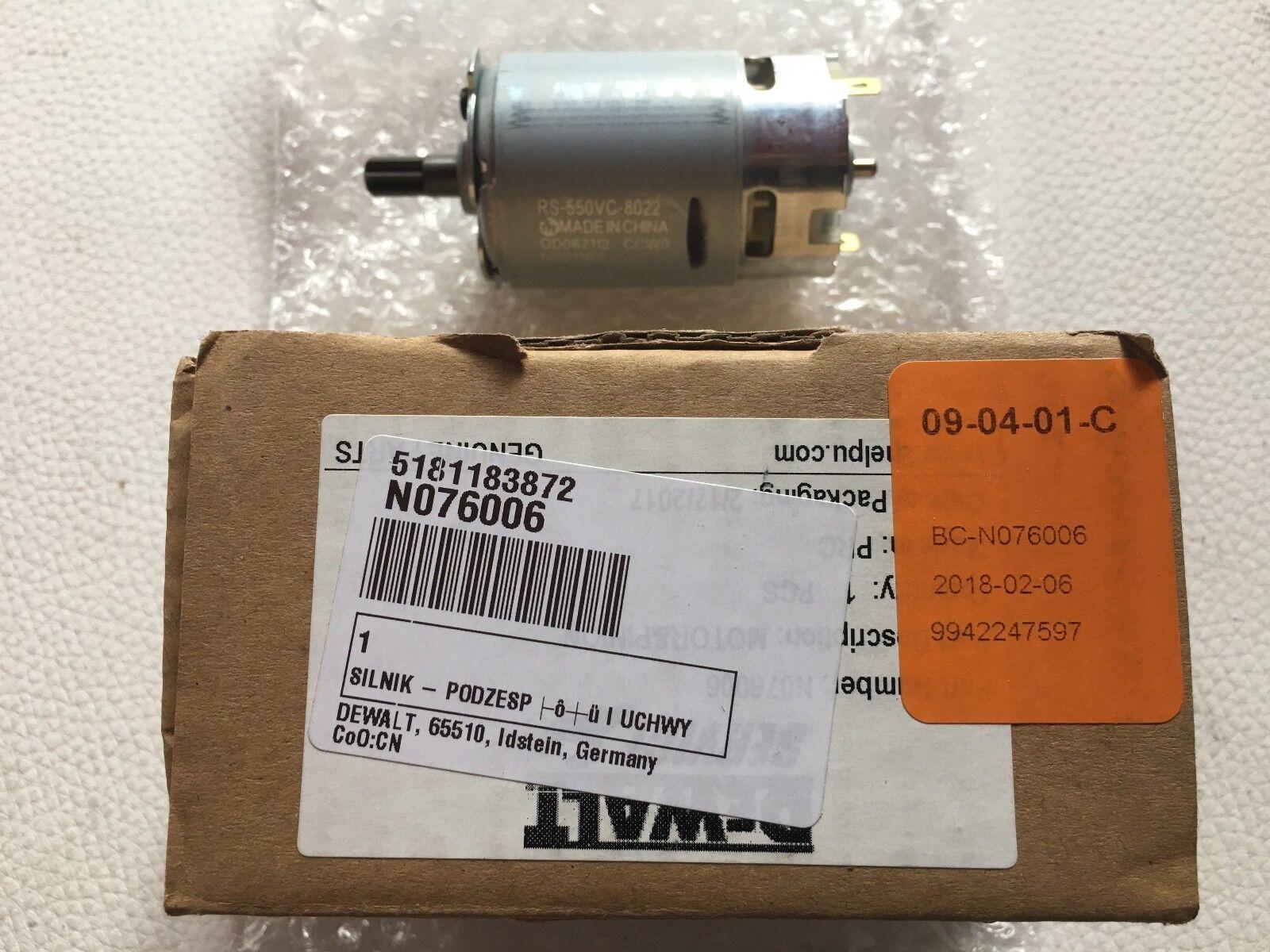 DeWalt Motor 10,8 Volt (N076006) für DCF813---EU und DCF815-Type-1