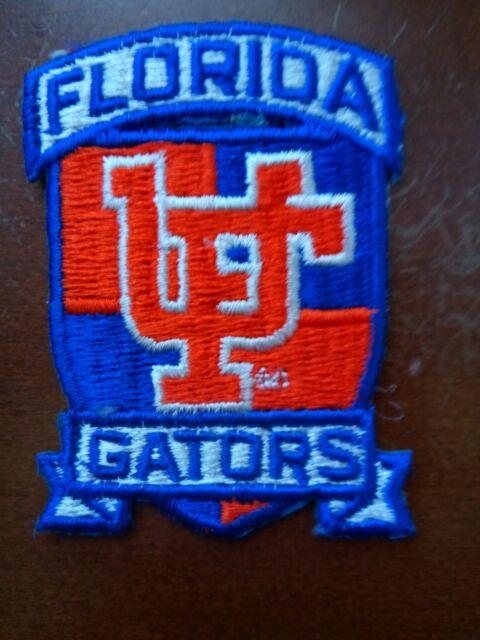 "University Of Florida Gators Vintage Embroidered Iron on Patch 3"" x 3"""