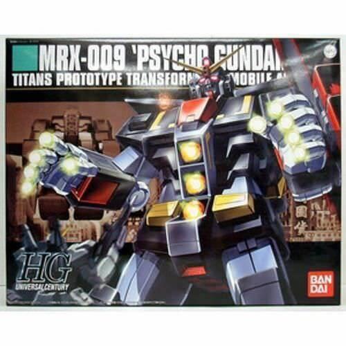 BANDAI SPIRITS HGUC 1//144 MRX-009 Psycho Gundam Mobile Suit Z Gundam BAN126800