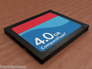 4 Gig Gb Compact Flash Cf Card Akai Mpc 5000 2500 1000 500