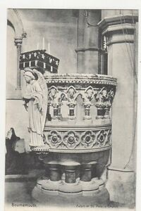 Bournemouth-Pulpit-In-St-Peters-Church-c-1905-Postcard-172a