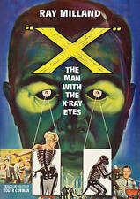 X: The Man with the X-Ray Eyes, New DVDs