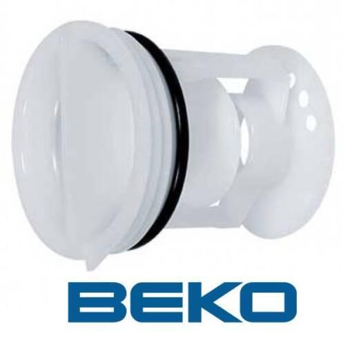 BEKO 2872700100 Filtre peluche Bouchon Pompe machine laver lave linge SABA16814