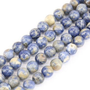 1 Bunch Gemstone Round Spacer Bead Stone Craft DIY Beads Jewelry 4/6/8/10/12mm