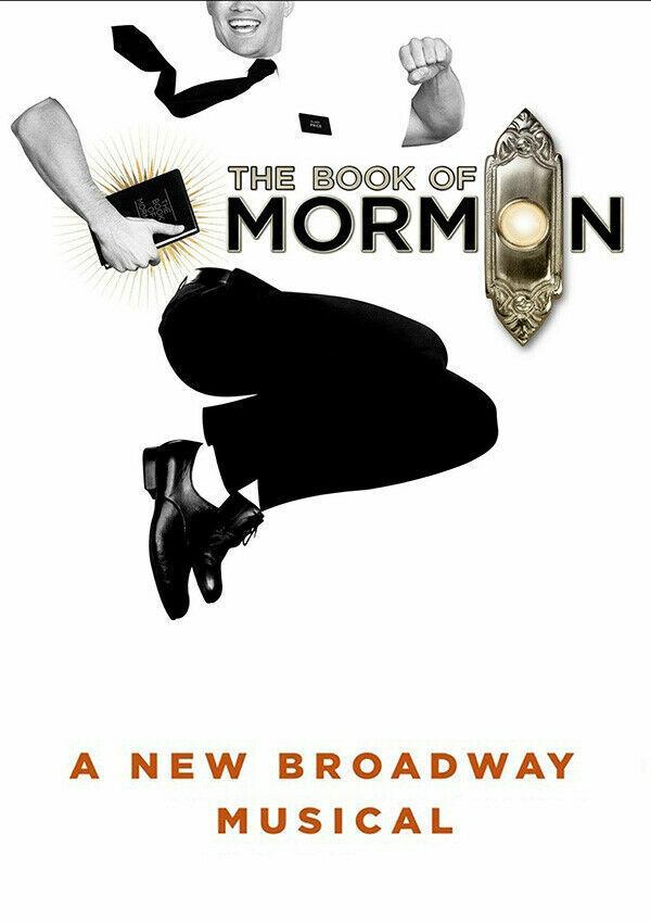 Livre De Mormon Stage Show Musical Iron On T-shirt Transfert A5