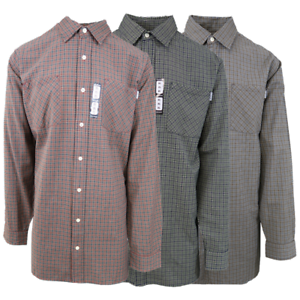 Carhartt-Men-039-s-Mini-Box-Plaid-L-S-Woven-Shirt-XL-4XL-Retail-45