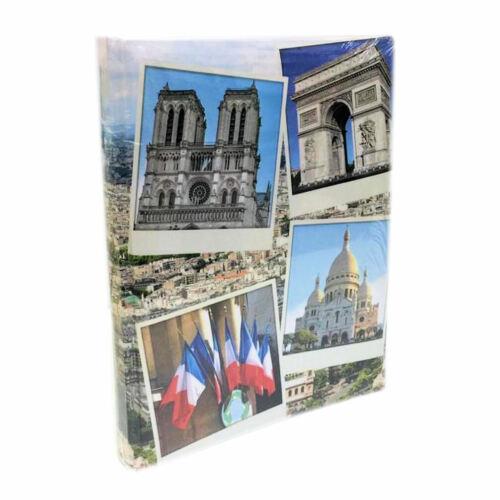 Fotoalbum Einsteckalbum Paris Motiv 2 EB2 für 120 Fotos 10x15 cm