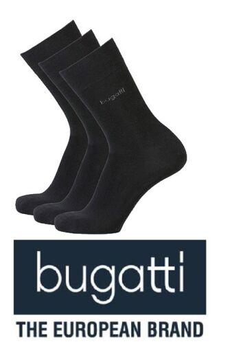 Bugatti Business Socken Softbund schwarz Größe 39//42 6 Paar