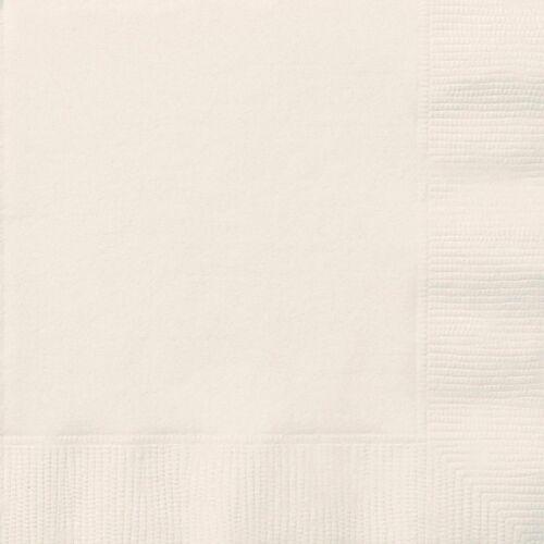 Cena Servilletas ~ 40 Cms Almuerzo Servilletas ~ 33CMS 2 capas papel Servilletas 20 Colores