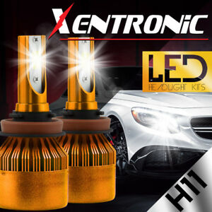 XENTRONIC-LED-HID-Headlight-kit-H11-White-for-2010-2016-Chevrolet-Equinox