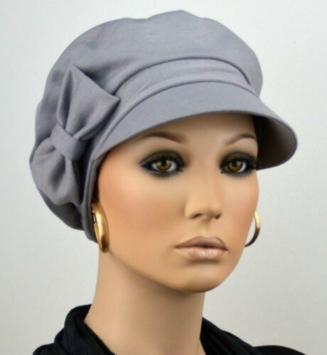 ELEGANCA SCHIRMMÜTZE Damen Mütze Chemo Ballonmütze Visor Schirm Kappe Alena NEU