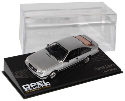 Opel Monza A GSE Coupe Silber 1983-1986  Inkl Zeitschrift Nr 132 1//43 Ixo Modell