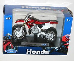 Welly-Honda-CR250R-Moto-Modele-echelle-1-18