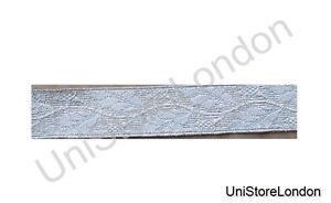 Braid-Silver-Mylar-Oak-Leaf-20-mm-Rank-Marking-Lace-Trim-R824