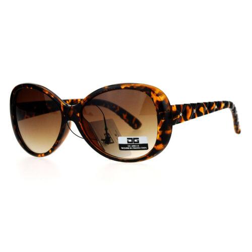 CG Eyewear Womens Sunglasses Round Oval Quilted Look Rhinestones Design