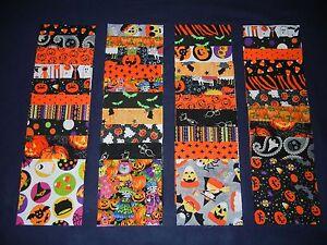 "5"" charm pack halloween squares~40 quilt blocks"
