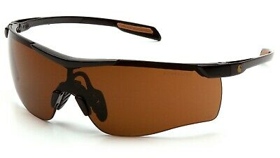 Carhartt Cayce Clear Anti Fog Lenses Safety Glasses Slim Wraparound Z87+