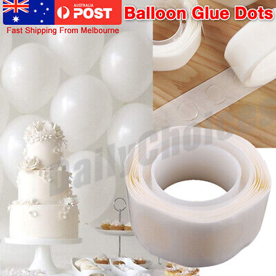 1000 Glue Dots Stickers Balloon Permanent Adhesive Wedding Party UP Photo Decor
