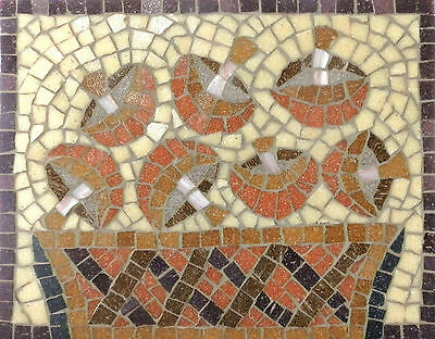 by Martin Cheek with tile nippers Mosaic kit choice of 5 designs  30cm x 15cm