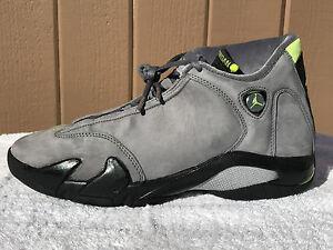 4d84833591e23c Nike Air Jordan Retro XIV 14 (2005) Chartreuse- Size 10.5 (311832 ...