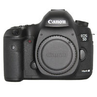 Canon EOS 5D Mark III 22MP Full HD 1080p Digital SLR Camera Body (Black)