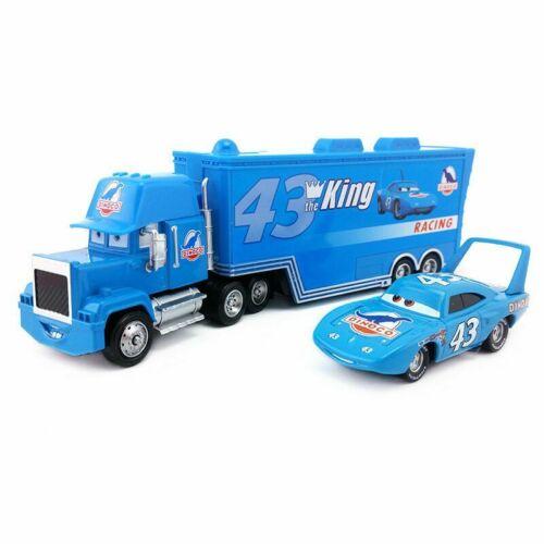 Pixar Cars NO.86 Chick Hicks /& Mack Truck 1:55 Diecast Toy Loose Kid Xmas Gift