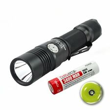 ThruNite TC12 NW USB Rechargeable Tactical LED Flashlight(battery included)