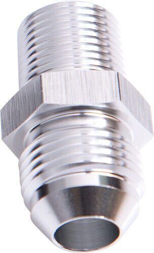 """Aeroflow AF816-10-12S Male Flare -10an To 3/4"""" Npt Silver Adapter"""