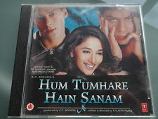 HUM TUMHARE HAIN SANAM ~ Bollywood soundtrack Hindi CD ~ 2002 ~ nikhil vinay