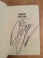 Signed - The Filthy Truth By Andrew Dice Clay + Pic & Flyer