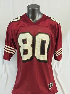 premium selection 98954 35f21 Details about JERRY RICE SAN FRANCISCO 49ERS VINTAGE STARTER JERSEY ADULT 52