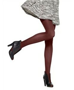 b7bdf46dfb2aa HUE Ultimate Opaque Tights with Control Top Size 1,2 Scarlet, Chrome ...