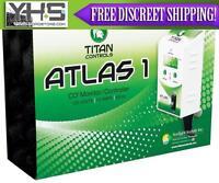 Titan Controls Atlas 1 Co2 Monitor Controller W/ Remote Sensor -ppm Photocell