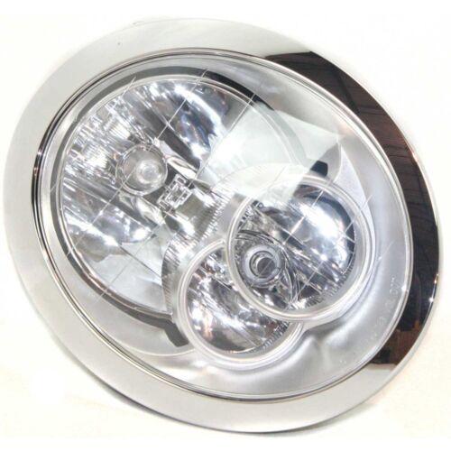 Halogen Head Lamp Assembly Set of 2 Pair LH /& RH Side Fits Mini Cooper 2005-2008