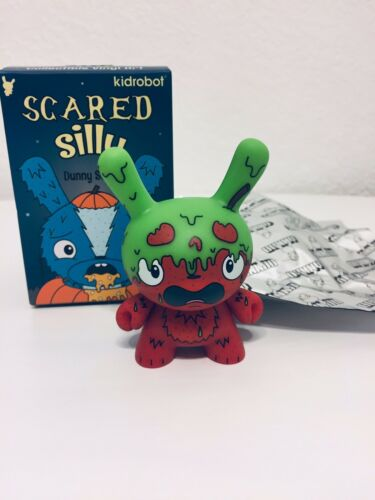 """Kidrobot-2017 Dunny Scared Silly Series """"G.M.D"""" by The Bots"""