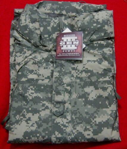 USGI issue GEN III Niveau 6 L 6 Army Combat Uniform Digital Goretex Léger Veste Neuf avec étiquettes