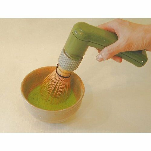 Electric Tea Whisk Chasen Japanese vert Tea Ceremony Matcha Handy Easy make NEW