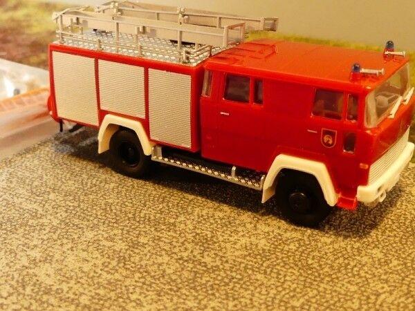 1 87 Brekina Magirus d usine pompiers playmobil Spécial Modèle