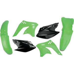 Set-plastico-Juego-Plastico-incl-Numero-Panel-Oem-Kawasaki-KXF-KX-F-250-2008