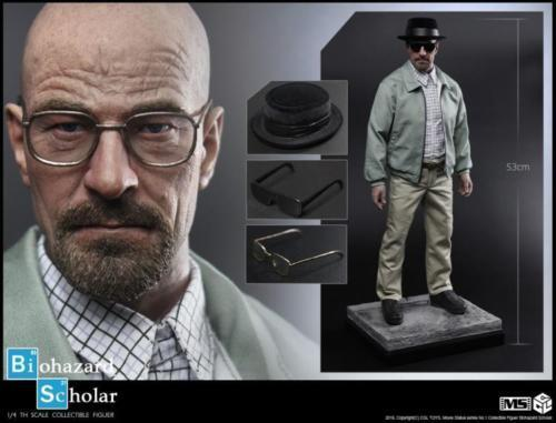 CGL TOYS 1 4 MS01 Breaking Bad Walter White Statue Collectible Model 20.5inch
