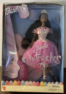 Barbie-in-the-Nutcracker-The-Sugarplum-Princess-2001-Doll-New-In-Box-52690-RARE
