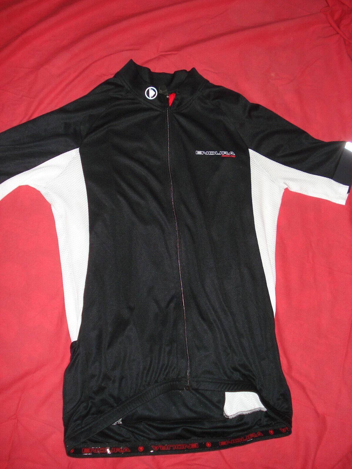 Endura FS260 Pro III Maglia Jersey Bici Bicicletta MTB Bianco schwarz XL Nuova