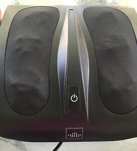 The Sharper Image Msg F110 Deep Kneading Shiatsu Foot Massager With