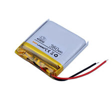 3.7V 360mAh polymer Li-ion Battery 453030 Fr Bluetooth GPS PSP mp3 ebook toy DVD