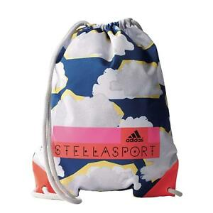 Image is loading adidas-Stella-McCartney-Womens-Drawstring-Gym-Bag- Stellasport- 4a9c336480459
