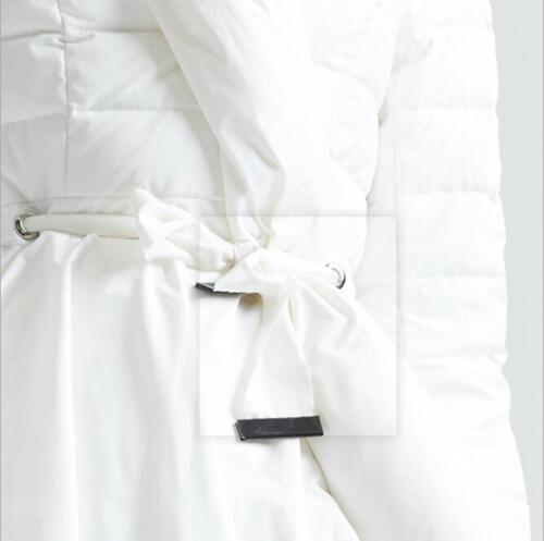 Chic Parka Slim Short Hem Asymmetrical Jacket Down Women Duck Trendy Coat Winter wtxrqtH0